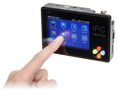 VIDEO TESTER IP, PAL ST-35IPC