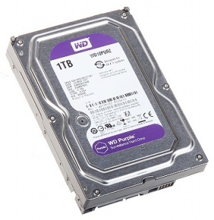 "HDD Purple 1TB 3,5""Western Digital"