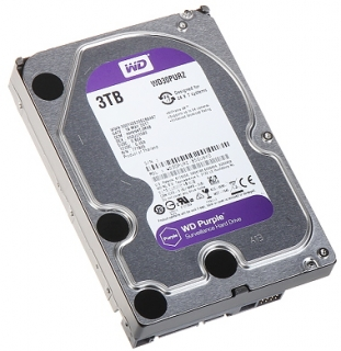"HDD Purple 3TB 3,5"" Western Digital"