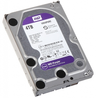 "HDD Purple 4TB 3,5"" Western Digital"